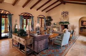 tuscan inspired living room paradise valley tuscan style