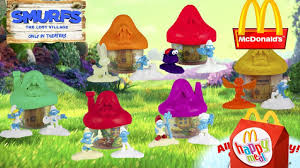 Mcdonalds In America Map by 2017 Smurfs The Lost Village Movie Toys Usa Mcdonalds Happy Meal