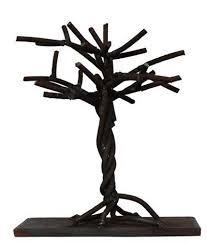 metal tree plant shrub bonsai sculpture statue statuette