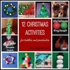 christmas activities for toddlers and preschoolers activities