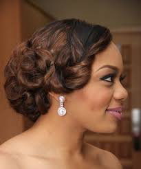 cute pin up hairstyles for black women vintage pinup black wedding hairstyles bride hairstyle