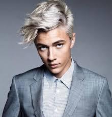 home design captivating men platinum hair blonde hairstyles guys