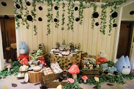 Totoro Home Decor by Chiro U0027s 1st Birthday Party With Totoro Theme Dreamflavours