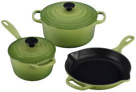 Creuset Pot Le Creuset Signature 5 Piece Cast Iron Cookware Set Palm Kitchen