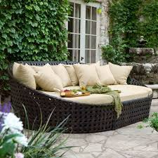 Grey Wicker Patio Furniture by Furniture All Weather Wicker Patio Furniture With Grey Ceramic