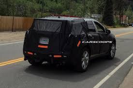 cadillac minivan 2017 u spy 2017 cadillac xt5 crossover prototype