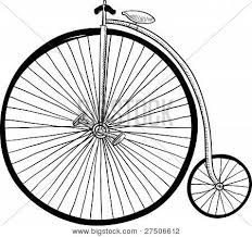 old fashioned bicycle sketch image cg2p7506612c