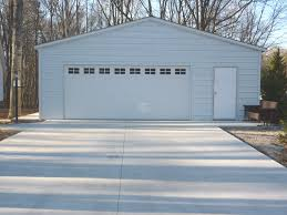 28x26x9 vertical style garage two car metal garage for sale