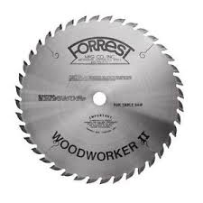 forrest table saw blades forrest 10 woodworker ii table saw blade wwii 10407125 5 8 bore