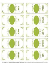 editable printable jar labels these spice jar labels are free for download designed by ink tree