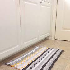 Yellow And Grey Kitchen Rugs Shop Yellow Rag Rug On Wanelo