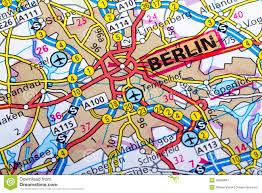 Berlin Map Berlin Map Stock Photos Image 36800883