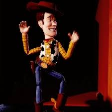 egotistic woody tips hat toy story