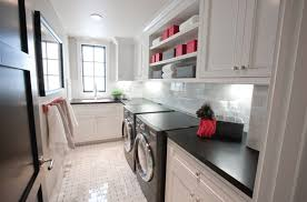 White Laundry Room Cabinets 10 Black And White Laundry Room Design Ideas Home Design And