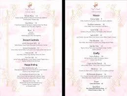 menu puff u0026 petals lounge