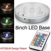 wholesale led under table lights 8inch 4w rgbw spot led light base shop cheap 8inch 4w rgbw spot