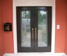 Hurricane Exterior Doors Mahogany Vestibule Door These Doors Lead Outside To The Sapele