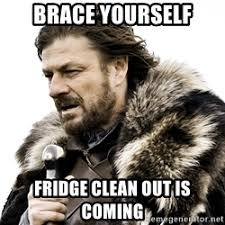 Brace Yourself Memes - brace yourself fridge clean out is coming jpg