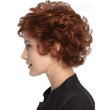 short layered hairstyles with short at nape of neck sassy short curly layered haircut synthetic hair monofilament top