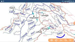 Kabul Map Indus River Map Youtube