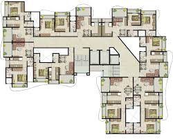 West Wing Floor Plan Floor Plan Sk Heights Pvt Ltd Imperial Heights At Dahisar