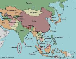 south asia countries map physical map of south asia map of usa states