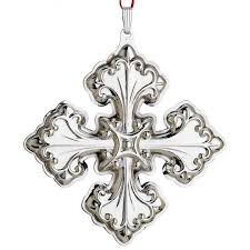2013 reed barton cross 43rd edition sterling ornament