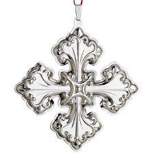 2013 reed u0026 barton christmas cross 43rd edition sterling ornament