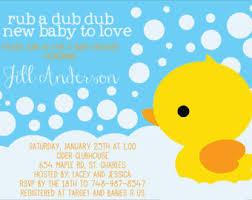 baby shower duck theme duck baby shower invitations gangcraft net