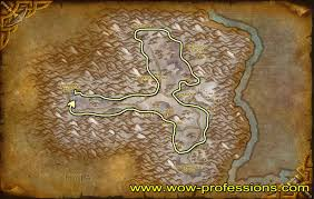 World Of Warcraft Map Wow Mining Guide 1 800 Legion Mining Leveling Guide Mining Maps