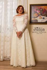 sleeve lace plus size wedding dress dieppe wholesale wedding dresses julija bridal fashion