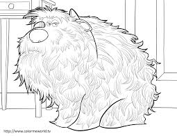 the secret life of pets coloring pages free printable the secret