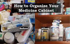 organize medicine cabinet how to organize your medicine cabinet
