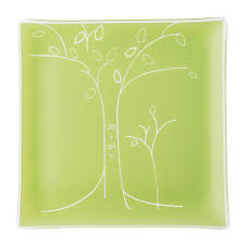 personalized anniversary plate personalized tree anniversary plate engraved square plate