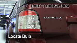 2010 ford taurus aftermarket tail lights tail light change 2008 2009 ford taurus x 2008 ford taurus x