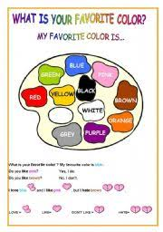 english teaching worksheets colours