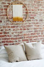 how to decorate a brick wall that is exposed american society of