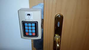 Keypad Interior Door Lock Backyards Arduino Rfid Relay Keypad Door Lock Maxresdefault
