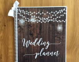 wedding planning book organizer wedding organizer etsy