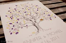 tree guest book fly me to the moon guest book alternative the fingerprint tree
