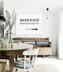 living room prints boston print large art prints modern wall art living room large art