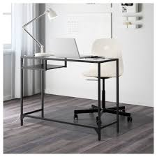 Laptop Desk Vittsjö Laptop Table Black Brown Glass Ikea