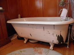 Bathtub Paint Peeling Restoring A Claw Foot Tub Thriftyfun