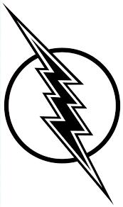 flash gordon lighting bolt coloring color luna