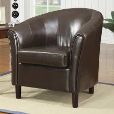 Tan Leather Accent Chair Brown Leather Accent Chair Steal A Sofa Furniture Outlet Los