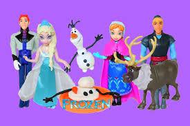 frozen dolls elsa anna olaf disney princess frozen complete