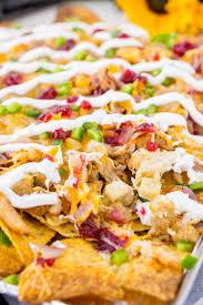 thanksgiving leftover nachos sugar soul
