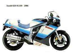 suzuki gsx r 1100 1986 datasheet service manual and datasheet