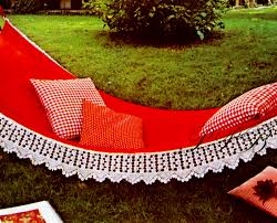 Home Decor Vintage by Crochet Pattern Hammock Pattern Home Decor Garden Decor Vintage