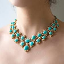 turquoise gold necklace images 300 best turquoise jewelry images gemstones jpg